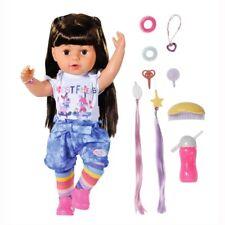 Zapf BABY born® Puppe Sister brunette 43 cm