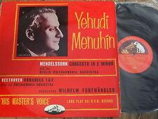 ALP 1135 Mendelssohn Violin Concerto in E minor etc. / Menuhin R/G
