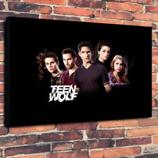 """Teen Wolf TV Show Printed Box Canvas Picture A1.30""""x20"""" 30mm Deep Frame"""