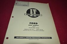 Ford Major Diesel Tractor I&T Shop Manual YABE8