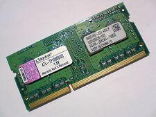 2GB DDR3-1066 PC3-8500 Kingston KTL-TP1066S/2G LAPTOP SODIMM RAM MEMORY SPEICHER