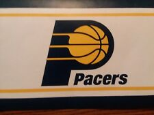 """NBA Indiana Pacers Prepasted Wallpaper Border  5.25"""" X 5 Yds."""