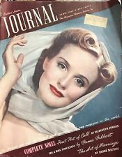 VINTAGE 1940 LADIES HOME JOURNAL MAGAZINE MICKEY ROONEY TERRIFIC ADS