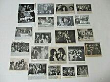 AEROSMITH Steven Tyler  Perry original magazine clippings LOT of 21 1970 - 1980