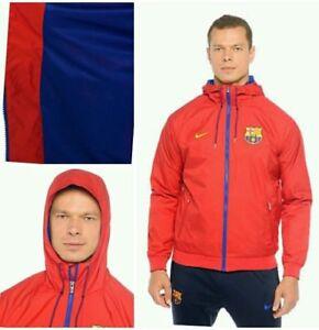 Nike FC Barcelona Barça Homme Tissé Windrunner Veste Football Training Chaqueta
