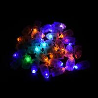 10pcs/lot mini led balloon lamp ball light lantern xmas party wedding decor WL