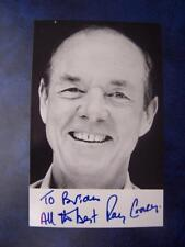 Ray Cooney   - Autograph (BL2) 5.5 x 3.5 inch