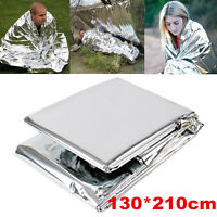 Outdoor Emergency Folding Tent Blanket Sleeping Bag Survival Camping Shelter New