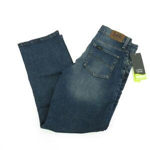 Lee Boys Straight Fit Adjustable Waist Stretch Jeans 12