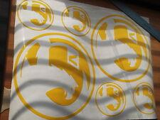 VAUXHALL logo  large sticker   X5 PIECE