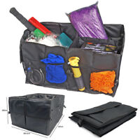 Car Trunk Cargo Bags Organizer Foldable Storage Box Bag Pocket Case Toolbox BK