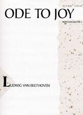 Ode To Joy From Symphony No. 9 Sheet Music Piano Solo NEW  000290149
