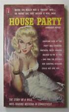 HOUSE PARTY DOMINIQUE NAPIER 1961 BEACON #B439F 1ST ED PBO UNREAD