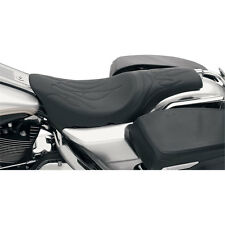 Flame Stitch Predator Seat for 97-07 Harley Touring FLHR FLHX