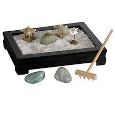 MINI ZEN GARDEN Relaxing Meditation Desk Table Top NEW GIFT Feng Shui Relaxation