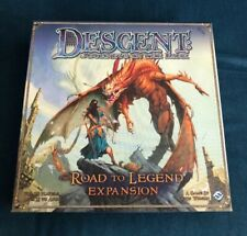 Descent 1st Edition Road to Legend Expansion Brand New Open Box OOP Rare FFG