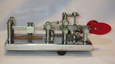 Antique Vibroplex Lightning Bug Deluxe No. 187942 Telegraph Morse Code Device