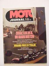 Moto Journal Mai 1978 N°364 Essai 24 du Mans des 125 GP Italie