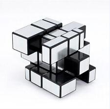 3x3x3  Magic Mirror Cube Silver Ultra-smooth Puzzle Professional Twist hot