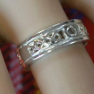 sterling silver new Scottish Celtic ring