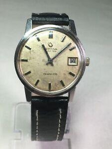 Gents Certina Wristwatch - Bristol 235 - Stainless Steel 27J Cal. 25-651