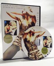 Madonna Blond Ambition Tour DVD (Live Nice, France 1990) rare, vogue, holiday