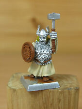 CLASSIC Metal Citadel Norse BARBARIAN FEMMINA queen Hammer WARRIOR FIGHTER (3142)