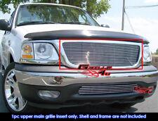Fits 99-03 Ford F150/Lightning/Harley Davidson Main Upper Billet Grille