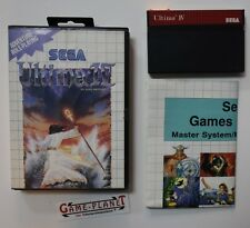 Ultima IV 4: Quest of the Avatar  Sega Master System  (1990) mit Werbeflyer OVP