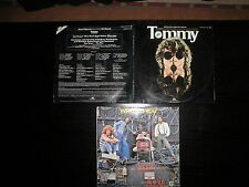 LOTE 3 VINILOS THE WHO LP´S TOMMY WHO ARE YOU RECORDS LOT DISCOS EXCEL+ + +