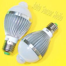 2x Smart Home Infrared PIR Body Motion Sensor Detector LED Bulb Lamp Light 110V