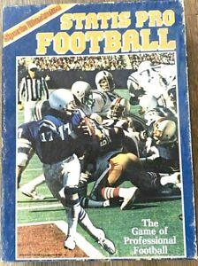vtg 1983 SPORTS ILLUSTRATED STATIS PRO FOOTBALL Game 9250 Avalon Hill complete