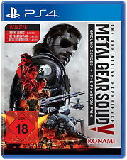 Metal Gear Solid V The Definitive Edition | MGS 5 | NEUWARE | PS4