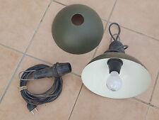2 lampes militaires de campagne Eclairage usine Vintage Mobilier industriel Jeep