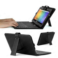 "7.0"" Tablet Cover w/ Keyboard Universal for indigi SVP iRulu Tagital Kindle NEW"