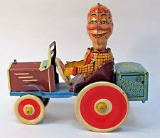 1939 MORTIMER SNERD TRICKY AUTO  Marx tin litho windup BOXED high grade *