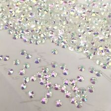 Swarovski Crystals Hotfix 250 x SS6 Transmission diamantes Rhinestones hot fix