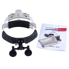 1x Dental Surgical Dentist Headband Binocular Loupes Magnifier Optical 3.5X