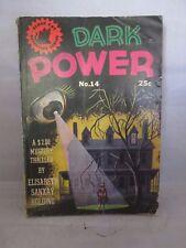 Dark Power No. 14 Black Cat Detective Series Paperback 1945
