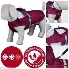 Manteau rouge en polyester pour chien