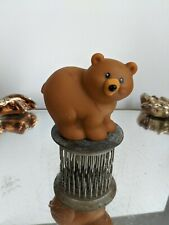 Fisher Price Little People Baby Animals,Zoo Bear Cub  Replacement Toy-1998
