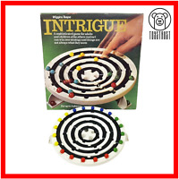 Intrigue Wiggins Teape Marble Game Vintage Board Game Retro Game 1970s