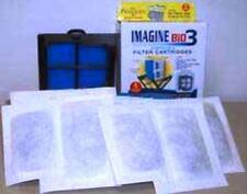 Imagine Bio 3 Filter Cartridge 6pk Fits Penguin Size A Mini/100 Power Filters