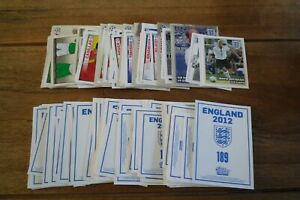 Topps England 2012 Football Stickers - VGC! Pick & Choose The Stickers You Need!