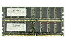 RANDOMLY  SELECTED, MICRON/CRUCIAL ETC, 1GB (2X512MB), PC2700, DESKTOP RAM, DDR3