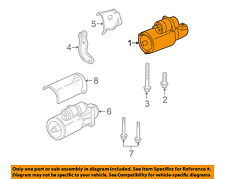 GM OEM-Starter Motor 10465459