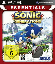 Sonic Generations -- Essentials (pirámide software) (Sony PlayStation 3, 2014, D