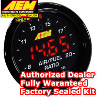 "AEM Wideband Gauge X-series 30-0300 AFR O2 UEGO Air Fuel Ratio 2 1/16"" NEW MODEL"