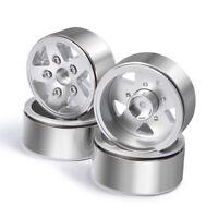 "4pcs Heavy Duty Alloy Beadlock 1.9"" wheel rims for RC 1/10 AXIAL SCX10 4WD D90"