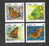 Ireland-Butterflies 2005 mnh set